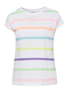 EDC T-shirt T SHIRT MET STREPEN IN NEON LOOK 069CC1K065 C110