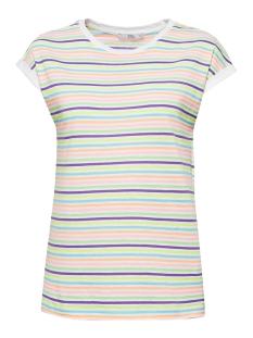 EDC T-shirt T SHIRT MET STREPEN IN NEON LOOK 069CC1K065 C111