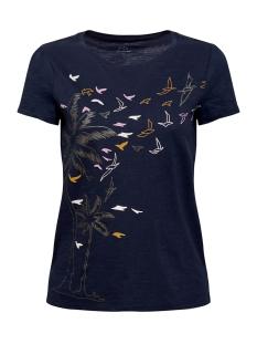 EDC T-shirt SHIRT VAN SLUBGAREN MET PRINT 069CC1K002 C400
