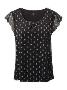 t shirt met mesh 1011080xx70 tom tailor t-shirt 18667