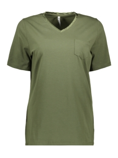 Zoso T-shirt BASIC SHIRT PA1903 ARMY