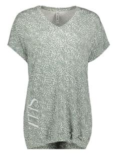 Zoso T-shirt ALLISTON PRINTED T SHIRT 192 SAGE/WHITE