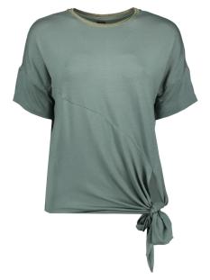 Vero Moda T-shirt VMVANESSA SS GLITTER TIE TOP JRS LC 10215444 Laurel Wreath