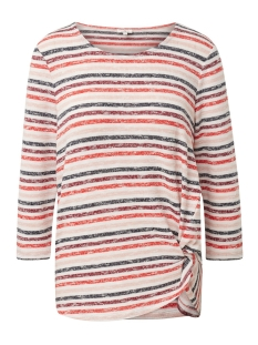 Tom Tailor T-shirt T SHIRT MET KNOOPDETAIL 1012368XX70 18731