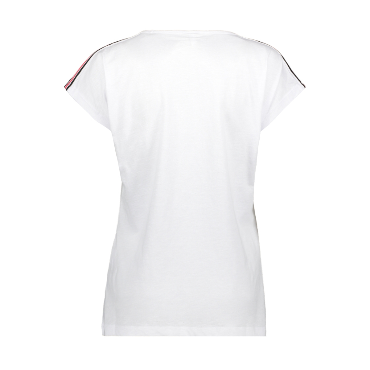 sacha printed t shirt 193 zoso t-shirt white/red