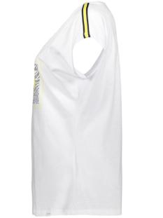 sacha printed t shirt 193 zoso t-shirt white/yellow