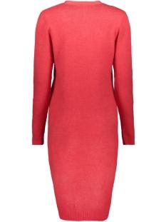 viril l/s long knit cardigan-fav 14043282 vila vest racing red/melange