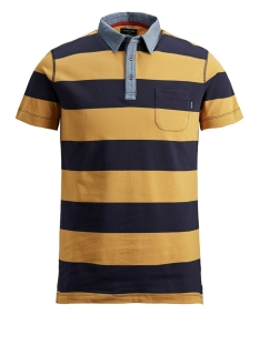 Jack & Jones Polo JPRBERTIL BLU. POLO SS 12154916 Tinsel/SLIM FIT