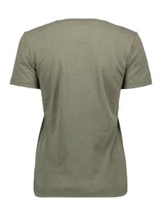 v logo deboss foil entry tee g10318yu superdry t-shirt washed khaki marl