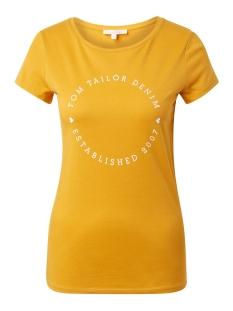 Tom Tailor T-shirt T SHIRT MET TEKSTUELE PRINT 1012679XX71 10744