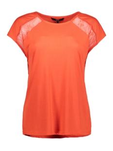 Vero Moda T-shirt VMPHILIPPA SL TOP JRS 10212479 Fiery Red