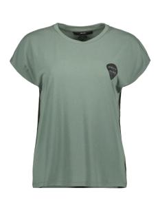 Vero Moda T-shirt VMSABRINA AVA SS WIDE TOP BOX JRS K 10215971 Laurel Wreath