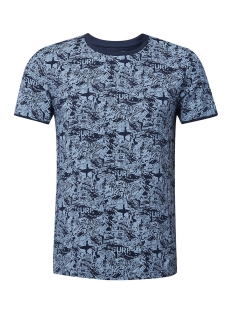 Tom Tailor T-shirt T SHIRT MET ALL OVER PRINT 1011138XX12 17825
