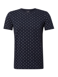 Tom Tailor T-shirt T SHIRT MET ALL OVER PRINT 1011138XX12 17832