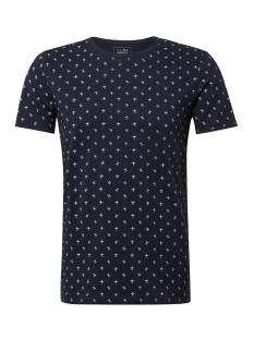 Tom Tailor T-shirt T SHIRT MET ALL OVER PRINT 1011138XX12 17832