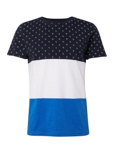 Tom Tailor T-shirt T SHIRT MET ALL OVER PRINT 1011309XX12 17832