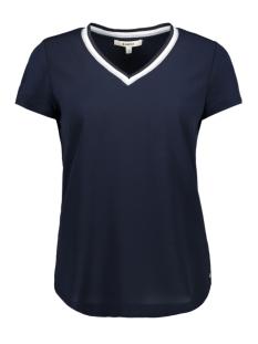 Garcia T-shirt T SHIRT MET GLITTER V HALS GE900502 292 DARK MOON