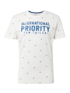 Tom Tailor T-shirt T SHIRT MET TEKST 1012836XX10 19051