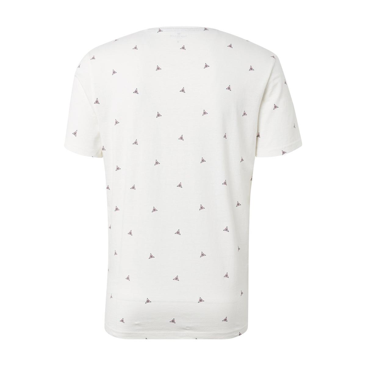 t shirt met tekst 1012836xx10 tom tailor t-shirt 19051
