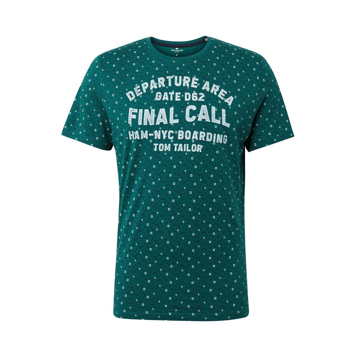 t shirt met tekst 1012836xx10 tom tailor t-shirt 19042