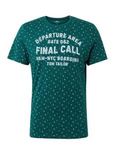 Tom Tailor T-shirt T SHIRT MET TEKST 1012836XX10 19042