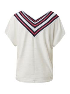 t shirt met bies 1014193xx71 tom tailor t-shirt 10332