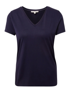 t shirt met v hals 1012755xx71 tom tailor t-shirt 18528