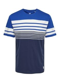Only & Sons T-shirt onsPHOENIX SS TEE 22013050 Baleine Blue