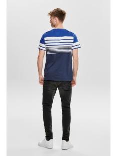 onsphoenix ss tee 22013050 only & sons t-shirt baleine blue