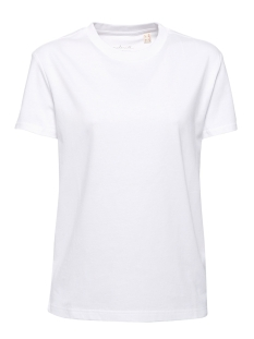 Esprit T-shirt T SHIRT IN BASIC LOOK 049EE1K066 E100 WHITE