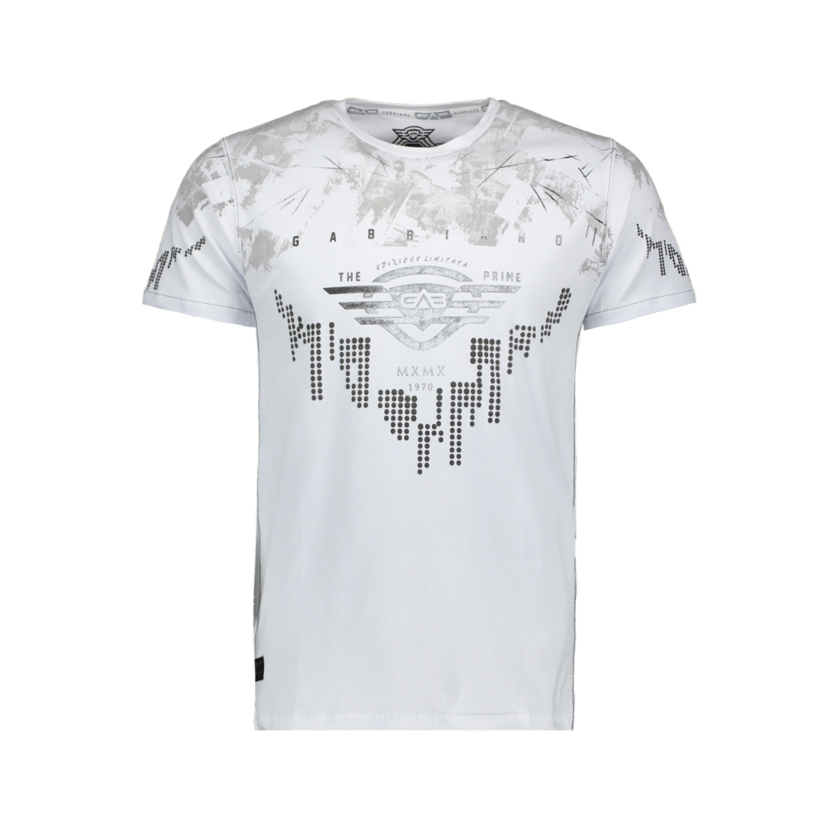 t shirt 13881 gabbiano t-shirt white