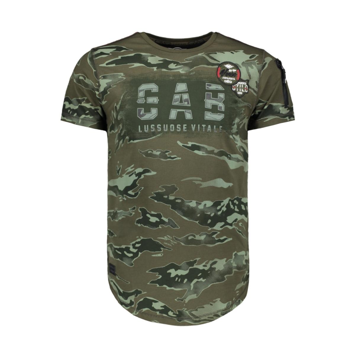 t shirt 13882 gabbiano t-shirt army