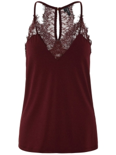 Vero Moda Top VMMILLA S/L LACE TOP NOOS 10185863 Port Royale