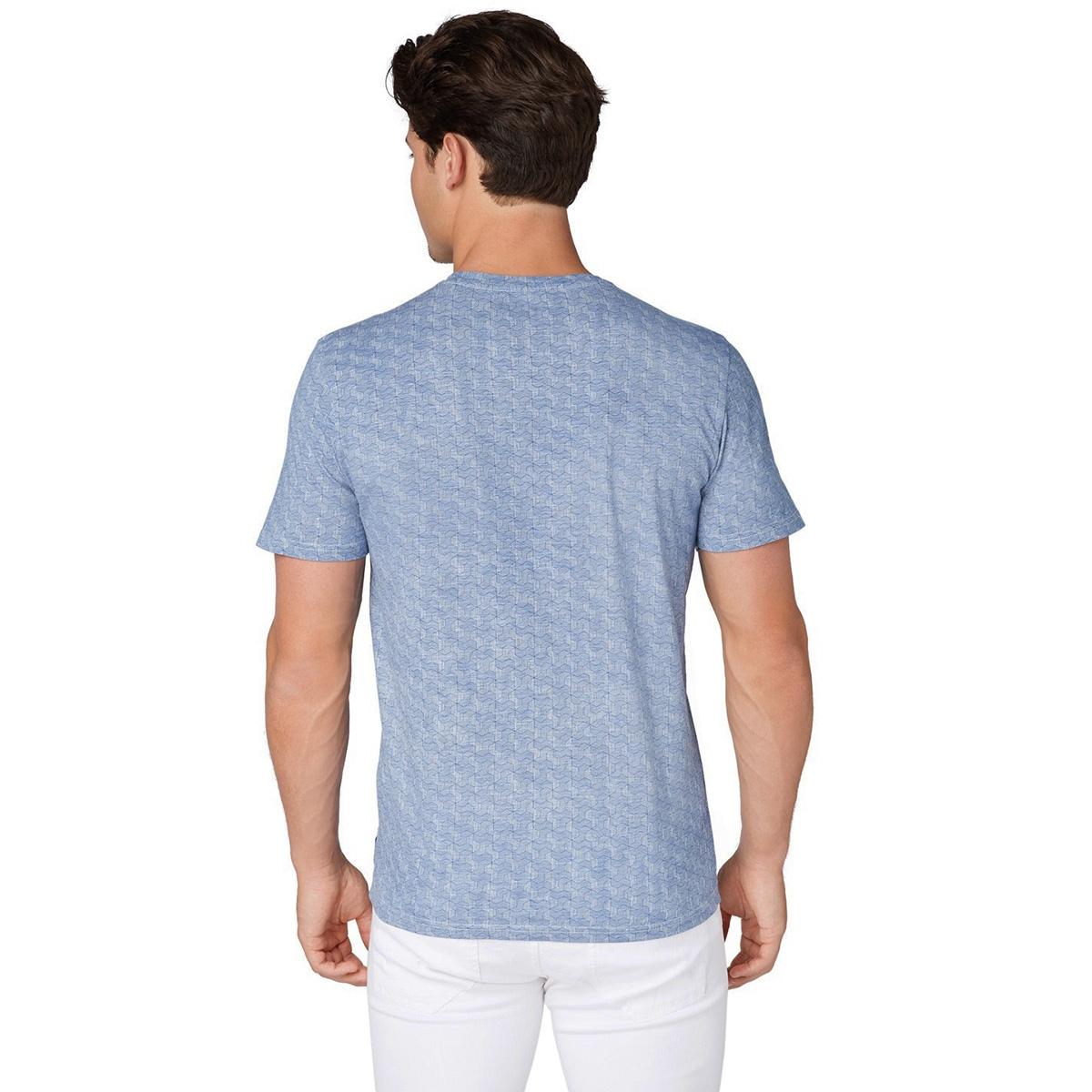 t shirt met all over print 1012839xx10 tom tailor t-shirt 19048