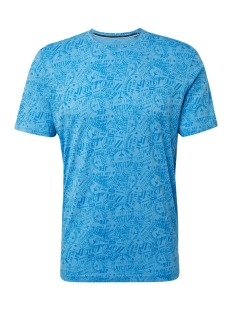 Tom Tailor T-shirt T SHIRT MET ALL OVER PRINT 1012839XX10 20712