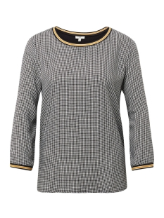 Tom Tailor T-shirt T SHIRT MET PIED DE POULE PRINT 1012974XX70 19131