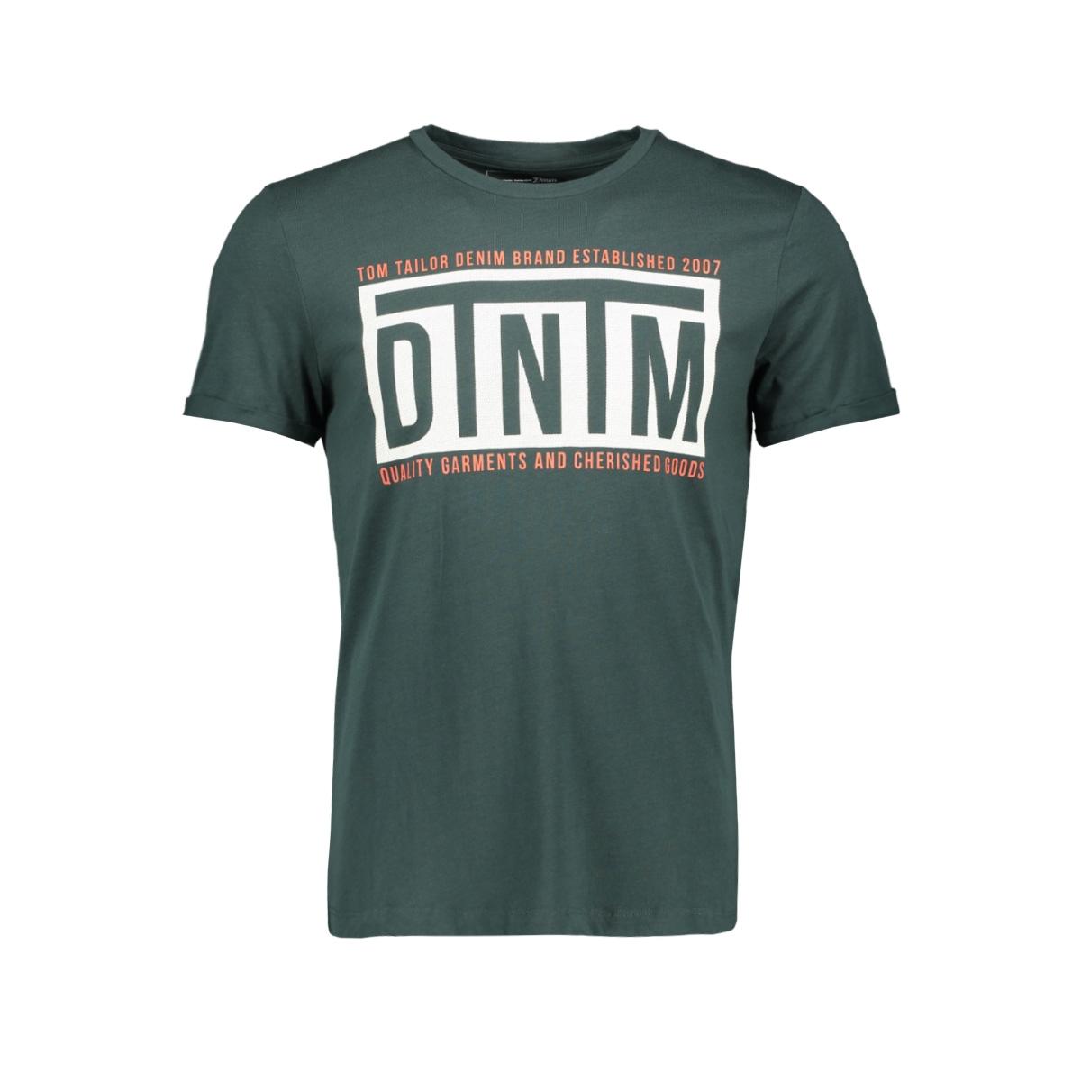 t shirt met tekst 1011975xx12 tom tailor t-shirt 10362