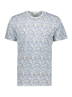 Only & Sons T-shirt ONSTREY REG SS AOP TEE 22015169 Blue Ice