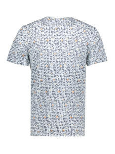 onstrey reg ss aop tee 22015169 only & sons t-shirt blue ice