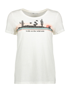 EDC T-shirt BURN OUT SHIRT MET ARTWORK PRINT 079CC1K020 C110