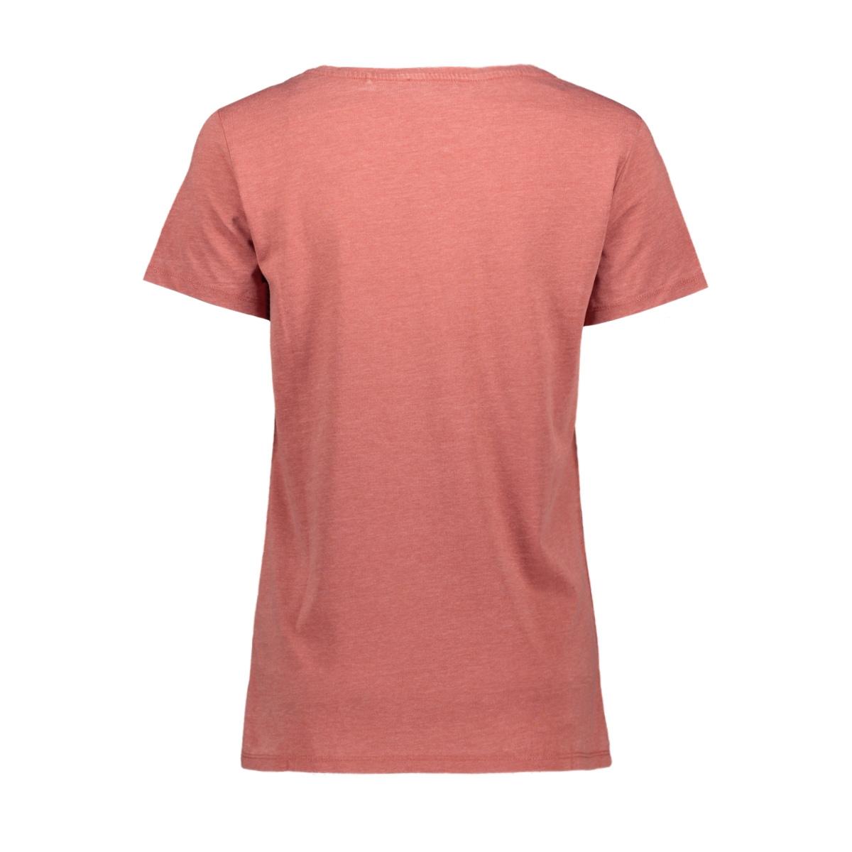 burn out shirt met artwork print 079cc1k020 edc t-shirt c805