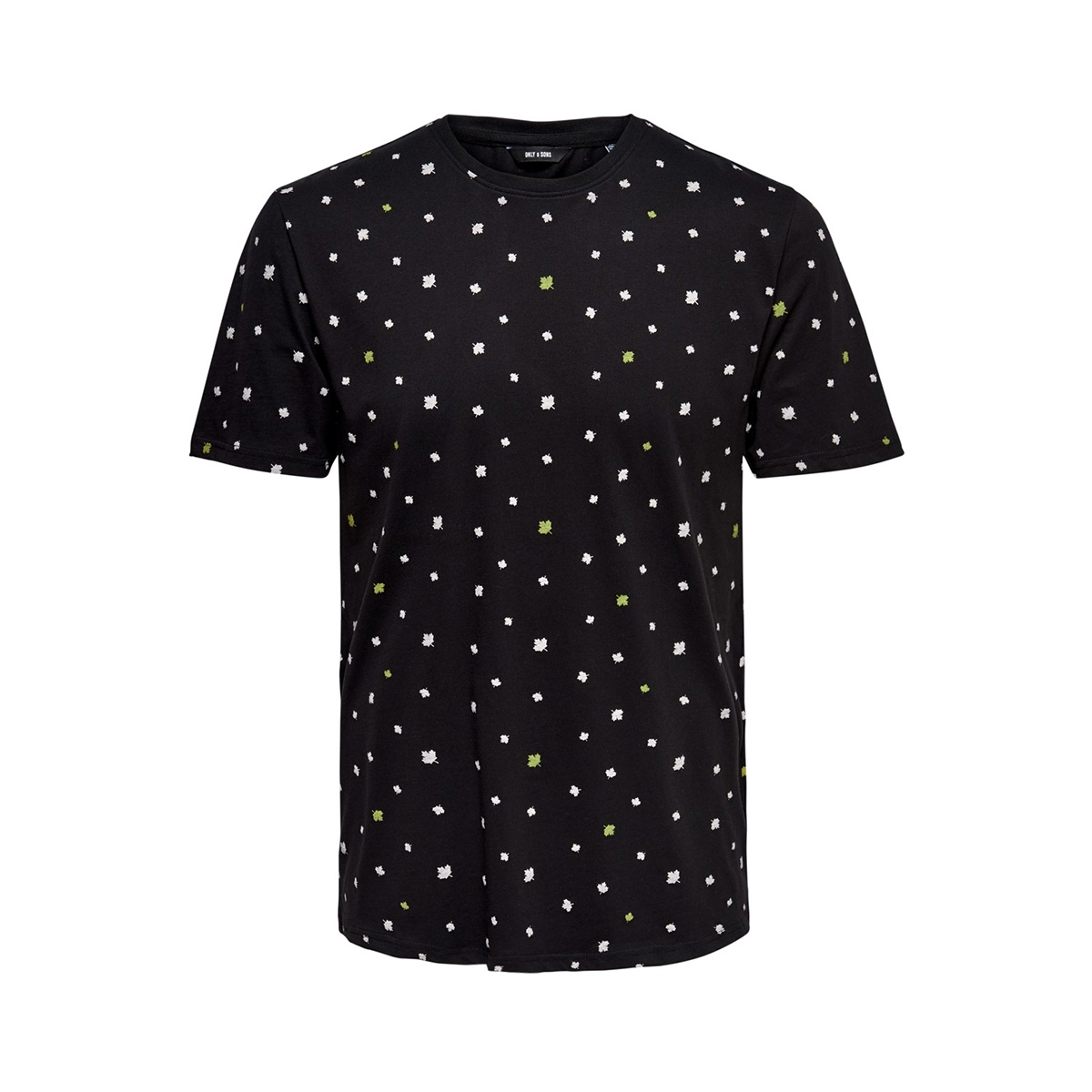 onsdivision aop ss tee vd 22013659 only & sons t-shirt black