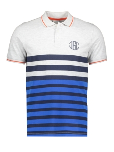 Jack & Jones Polo JCOPARK POLO SS 12155183 White Melange/SLIM