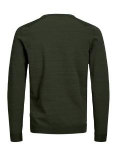 jcoelm knit crew neck 12155957 jack & jones trui rosin/knit fit