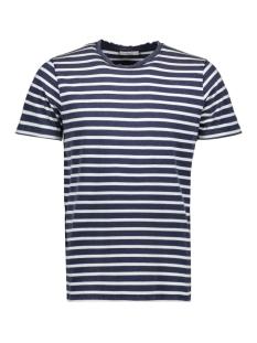 Jack & Jones T-shirt JPRSTUARTY TEE SS CREW NECK 12165991 Mood Indigo/Yarn dyed