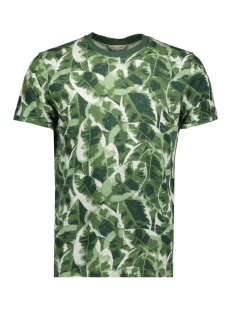 Cast Iron T-shirt LEAF CAMOUFAGE T SHIRT CTSS193307 6129