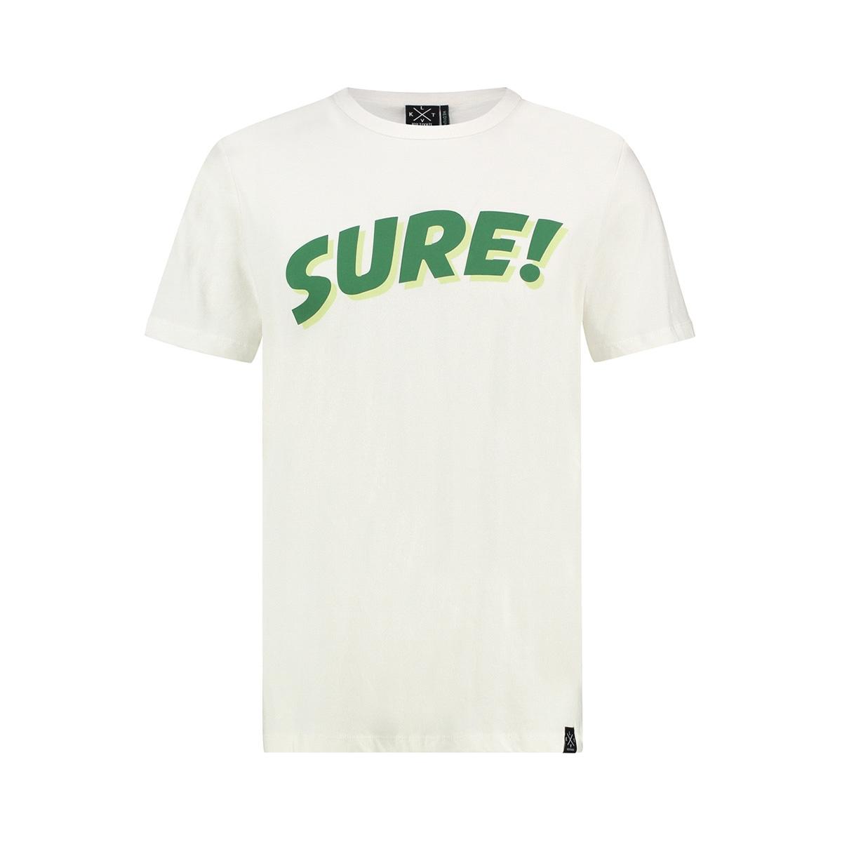 ts sure 1901030201 kultivate t-shirt 203 ecru