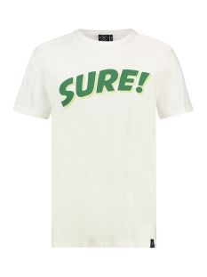 Kultivate T-shirt TS SURE 1901030201 203 Ecru