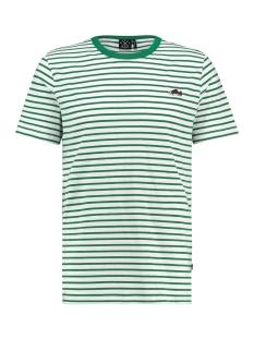 Kultivate T-shirt TS SNEAKER STRIPE 1901030205 203 Ecru