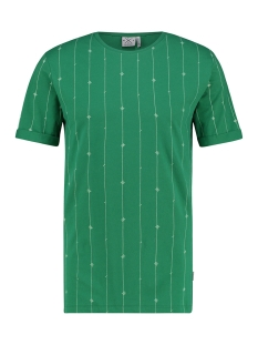 Kultivate T-shirt TS HEARTBEAT 1901030207 422 Pine Green